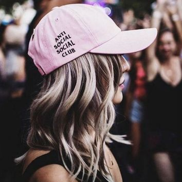 ONETOW Anti Social Social Club Baseball Cap Hat