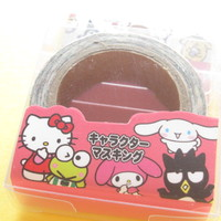 Kawaii Cute Masking Tape/Deco Tape Sticker Sanrio Japan Exclusive *Sanrio Characters (20064)