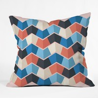 Gabi Rain 4 Throw Pillow