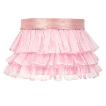 Jubilee Collection 4771 Ruffled Sheer Pink Lamp Shade