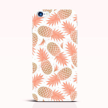 Pineapple iPhone 6 Case iPhone 4 5 5s 5C Case Cute iPhone Cover Orange Samsung Galaxy S5 mini case S4 mini Case Note 3 case [228]