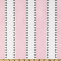 Premier Lulu Bella Pink and Grey Fabric