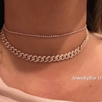 Beverly thin choker