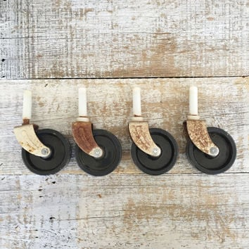 Casters Industrial Caster Metal Swivel Casters Hard Plastic Wheel Casters Salvaged Hardware Furniture Feet Wheels Black Casters