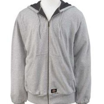 Dickies - Men's 470 Gram Thermal-Lined Fleece Hooded Jacket