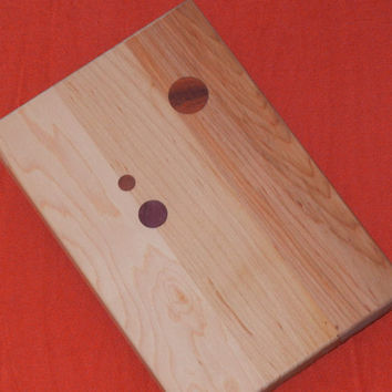 cutting board with french curve