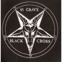 45 Grave Men's Cloth Patch Black