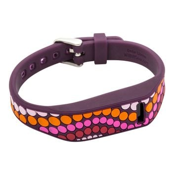 NEW French Bull Fitbit Flex Designer Band With Chrome Clasp Pink Dots