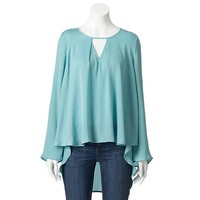 Women's Jennifer Lopez High-Low Peasant Top
