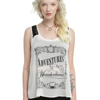Disney Alice Through The Looking Glass Split Back Girls Tank Top