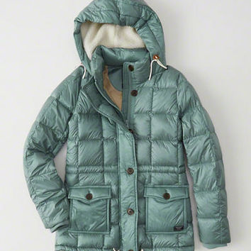 Womens Down-Filled Puffer Coat | Womens New Arrivals | Abercrombie.com