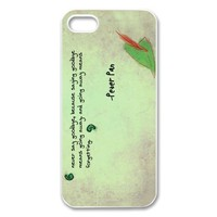 Fashion Peter Pan Personalized iPhone 5 Hard Case Cover -CCINO