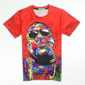 Biggie Smalls T Shirt Red