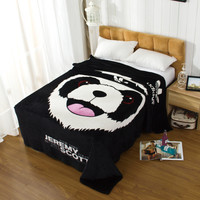 Panda Home Office Blanket Air Conditioning Bedsheet