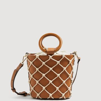 Net tote bag - Women | MANGO USA