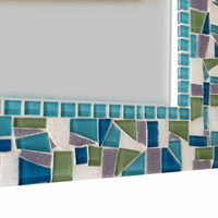 Custom Mosaic Wall Mirror, You choose the colors