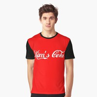 'Kim's Coke' Graphic T-Shirt by hypnotzd