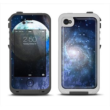 The Foreign Vivid Planet Apple iPhone 4-4s LifeProof Fre Case Skin Set