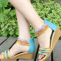 Malta Wedge Sandals