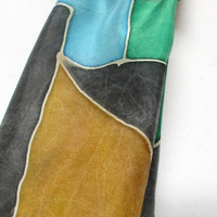 Handpainted silk scarf wrap accessory//Fashionista gift//made in NY Hudson Valley//art to wear// unique gift for her