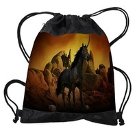 UNICORN - THE DARK ONE DRAWSTRING BAG