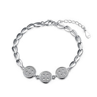 Great Deal New Arrival Stylish Shiny Awesome Gift Hot Sale Fashion Accessory 925 Silver Bracelet [9122234439]