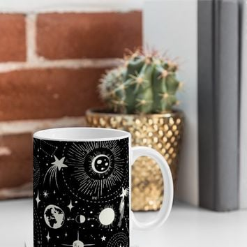 Heather Dutton Solar System Coffee Mug