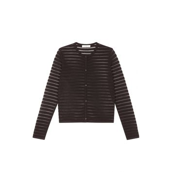 Sandro Gloria Striped Cardigan at Sandro US