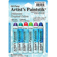 Cedar Canyon Textiles Tropical Shiva Artist's Paintstiks (Pack of 6) | Overstock.com