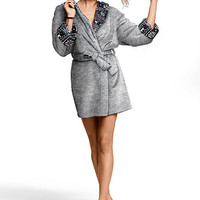 Plush Reversible Robe - PINK - Victoria's Secret