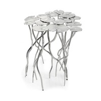Michael Aram Lily Pad Side Table