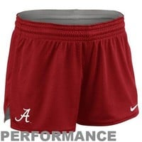 Nike Alabama Crimson Tide Ladies Mesh Shorts - Crimson