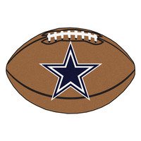 Dallas Cowboys Football Rug 20.5x32.5