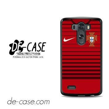 Portugal Soccer Jersey For LG G3 Case Phone Case Gift Present YO