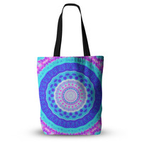 "Iris Lehnhardt ""Summer Colors"" Pink Blue Everything Tote Bag"