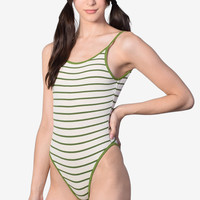 Bethany Striped Leotard