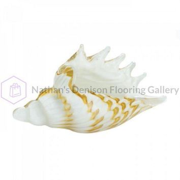 Seashell Glass Decor