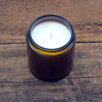 Country 4 Oz. Amber Glass Soy Candle