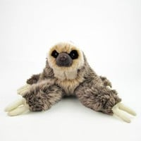 Real Plush Stuffed Animal Two-toed Sloth