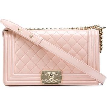 Chanel Vintage Medium 'boy' Crossbody Bag - Designer Vault - Farfetch.com
