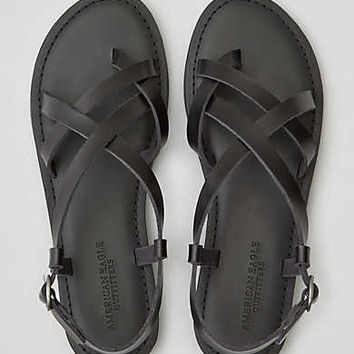AEO Strappy Sandal , Black