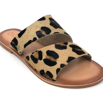 Naughty Monkey Spirited Leopard Sandals