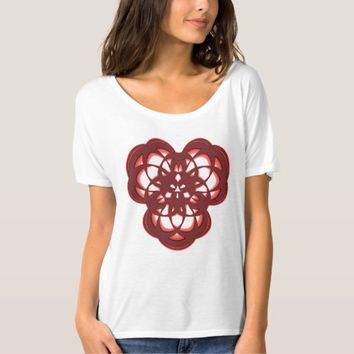Women's Bella+Canvas Slouchy Sacred Geometry T-Shirt