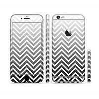 The White & Gradient Sharp Chevron Sectioned Skin Series for the Apple iPhone 6