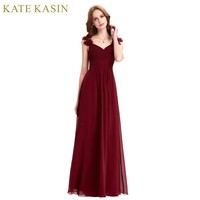 Floor Length Long Evening Dresses Lang Elegant Party Dress Formal Gown Red Burgundy Evening Dress