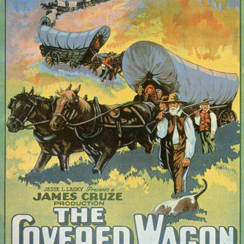 The Covered Wagon 11x17 Movie Poster (1923)