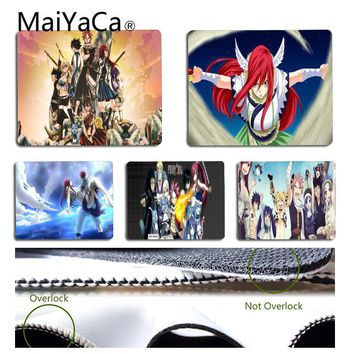 MaiYaCa New Design fairy tail Anime Mouse Pad for Laptop Laptop Gaming Mice Mousepad