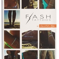 Junior Women's Flash Tattoos 'Goldfish Kiss' Temporary Tattoos
