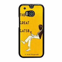 the great gatsby yellow cover design case for htc one m8 m9 xperia ipod touch nexus