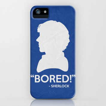 Sherlock Poster 03 iPhone & iPod Case by Misery